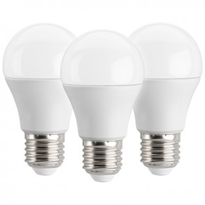 3 x LED Bulb 5.5W E27 - Warm White