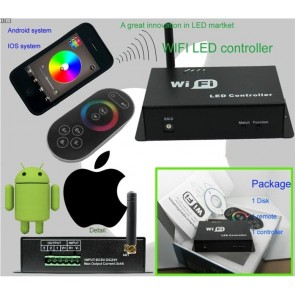 WiFi RGB LED Strip Controller (iOS/Android)
