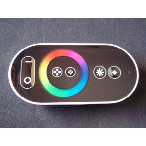 RGB Strip controller with touch wheel remote control